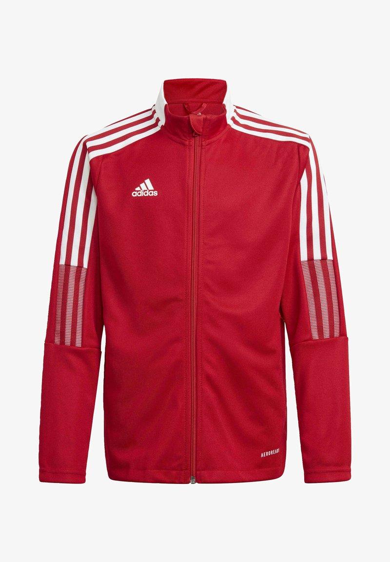 adidas Performance - IRO 21 TRACK TOP - Training jacket - red