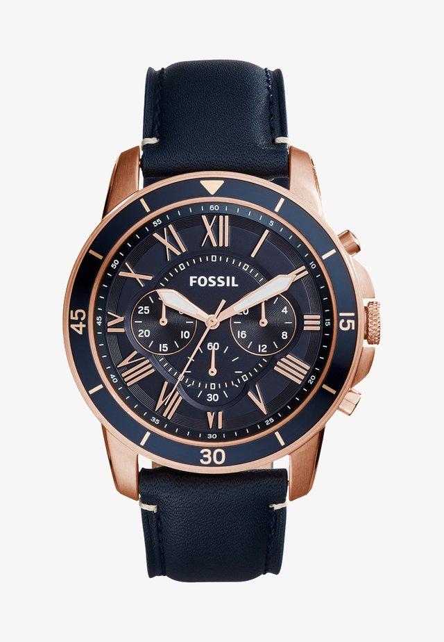 GRANT  - Cronografo - blau