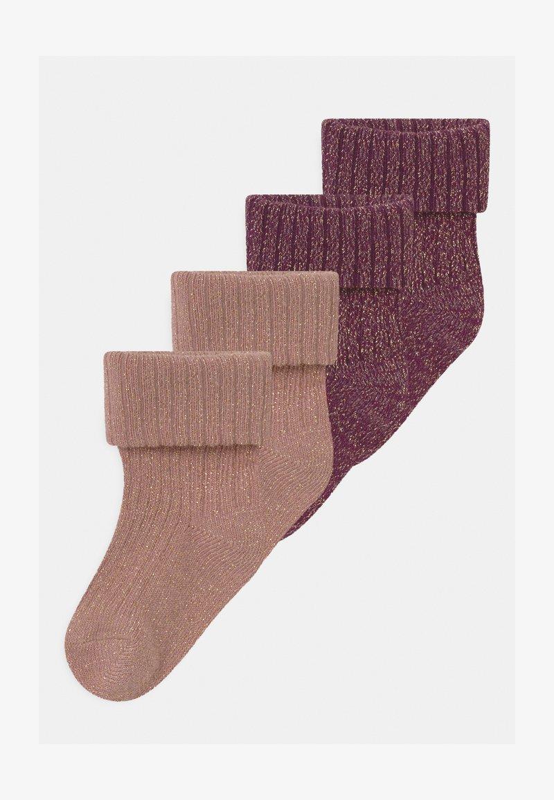 Name it - NBFROSIN 4 PACK - Socks - italian plum/deauville mauve