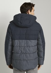 TOM TAILOR - Winter jacket - blue melange structure - 2