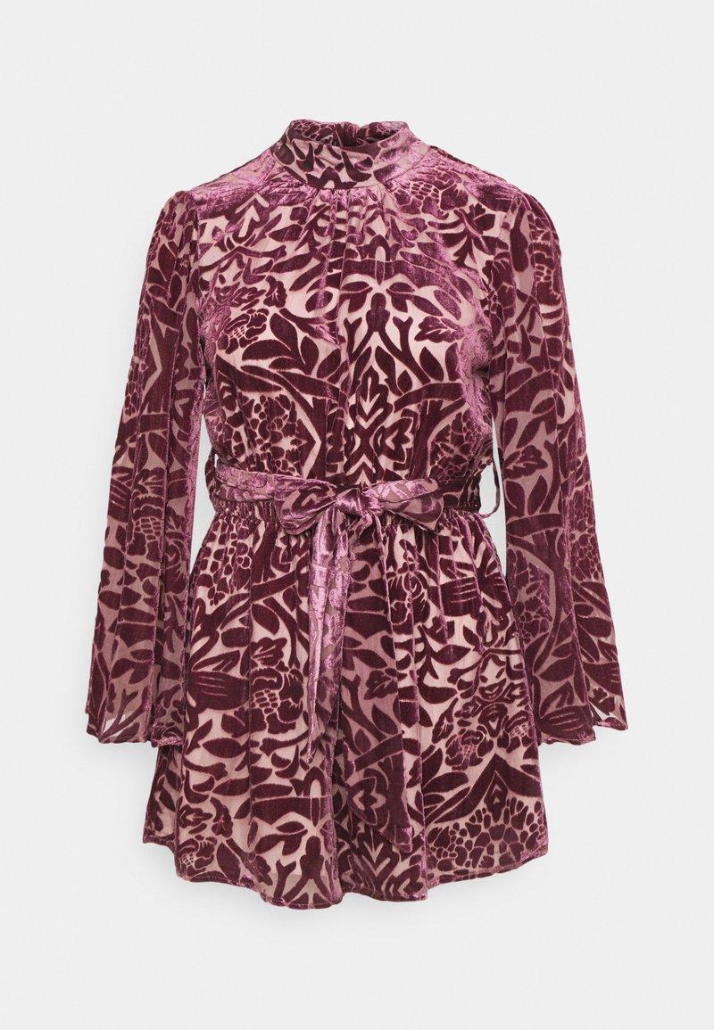 Never Fully Dressed - PLAYSUIT - Jumpsuit - purple