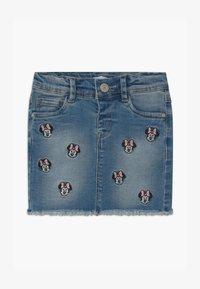 Name it - NMFMINNIE BATEGANI - Denim skirt - medium blue denim - 0