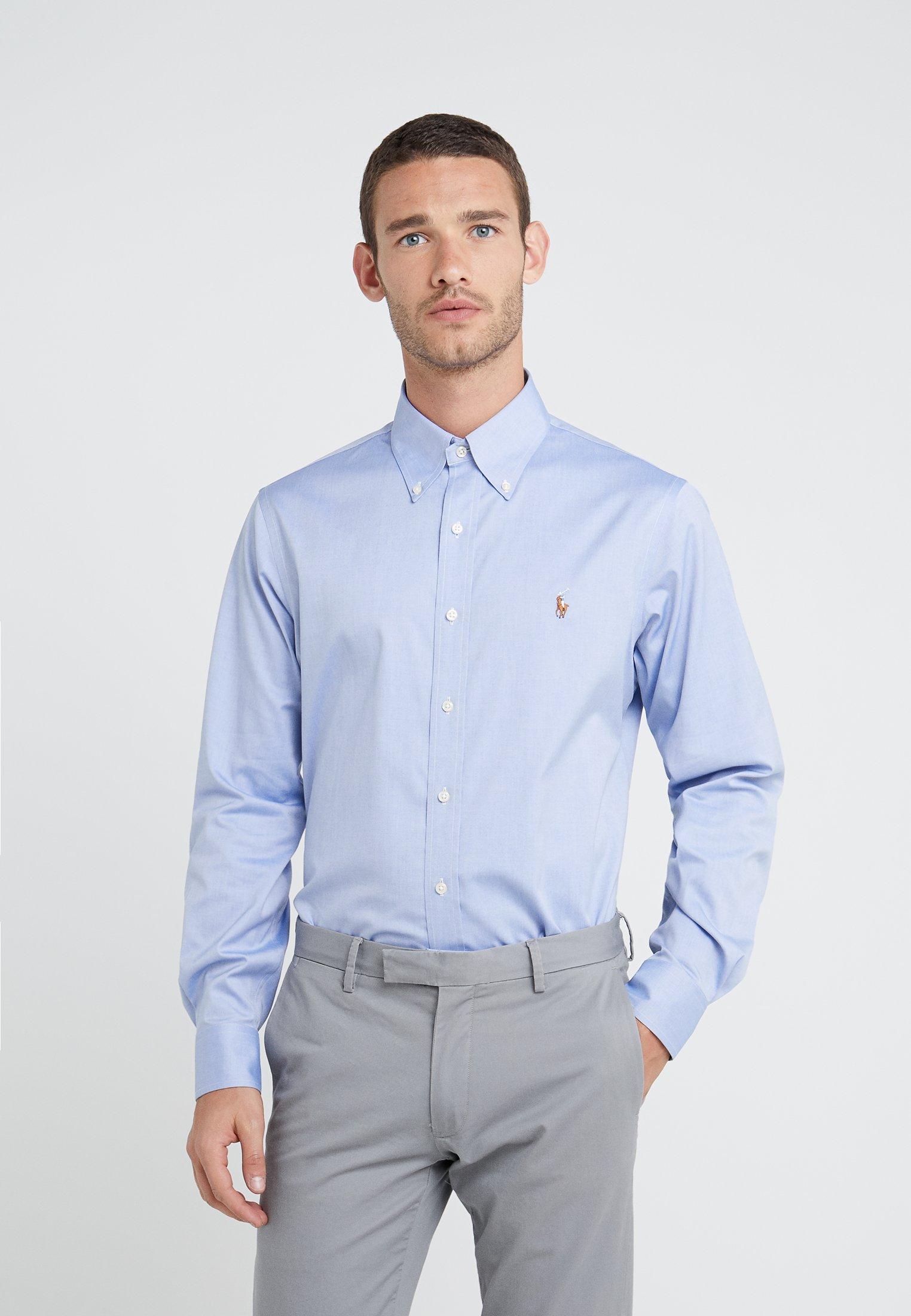 Uomo EASYCARE PINPOINT OXFORD CUSTOM FIT - Camicia