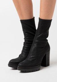 Felmini - JANICE - High heeled boots - delicius black - 0