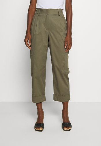 COSBY - Trousers - soft moss