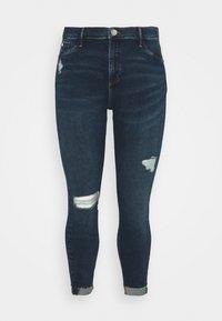 River Island Plus - Jeans Skinny Fit - blue denim - 0