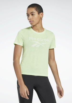 WORKOUT READY SPEEDWICK - Print T-shirt - green