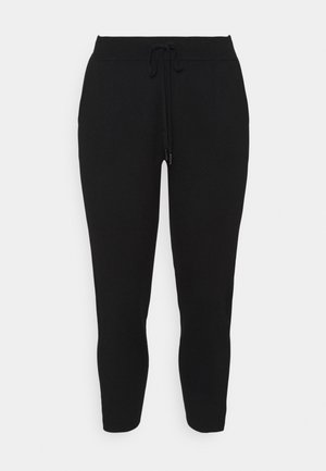 KITY PANTS - Trousers - black deep