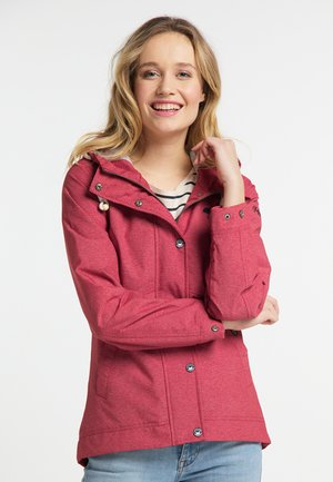 Outdoor jacket - red mixture