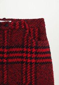 Mango - ANNA - A-line skirt - rouge - 5