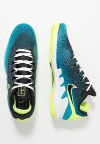 Nike Performance - AIR ZOOM VAPOR X - Chaussures de tennis toutes surfaces - neo turquoise/black/green/hot lime - 1