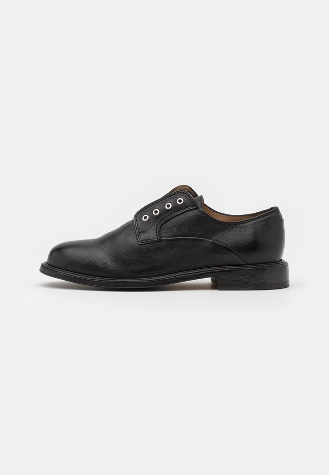 BOND ZIP SHOE  - Instappers - black