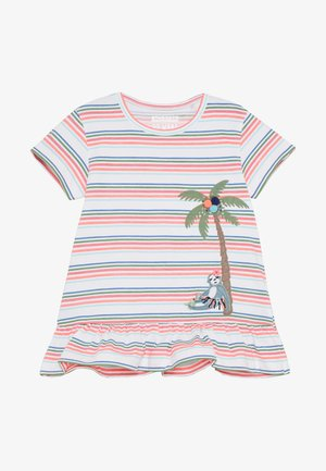 STREIFEN KID - Print T-shirt - soft white