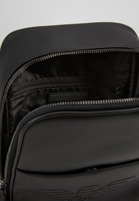 Emporio Armani - BODYPACK - Across body bag - black - 4