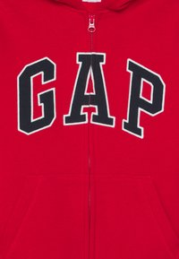 GAP - BOY NEW ARCH HOOD - Hoodie met rits - pure red - 2