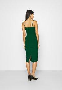 Trendyol - ZÜMRÜT YEŞILI - Koktejlové šaty/ šaty na párty - emerald green - 2