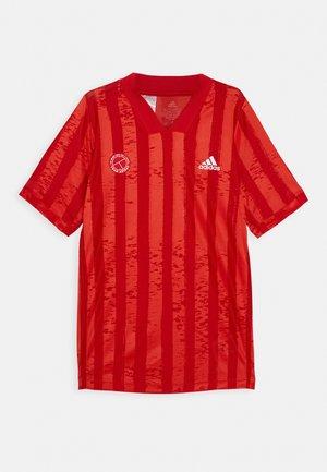 TEE - Print T-shirt - scarlet/signal pink