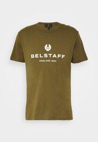 Belstaff - Print T-shirt - salvia - 5