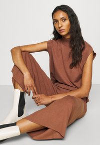 ALIGNE - CAIUS CULOTTES - Trousers - brown - 3