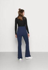 Glamorous Bloom - LADIES FLARES - Spodnie materiałowe - navy - 2