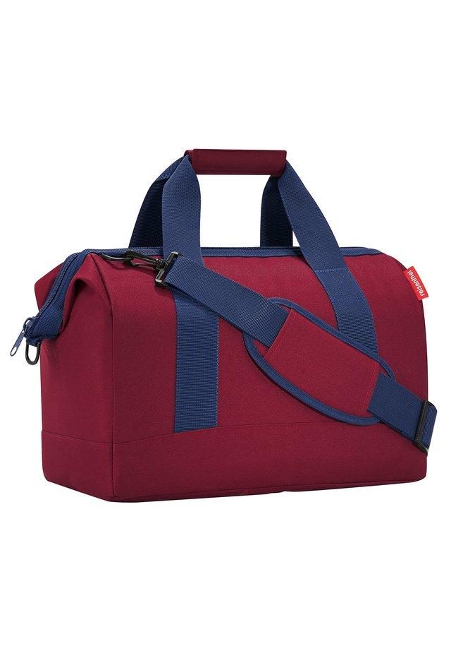 Weekend bag - dark ruby [3035]