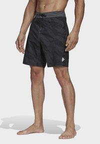 adidas Performance - PRIMEBLUE CLX SHORTS - Swimming trunks - black - 0