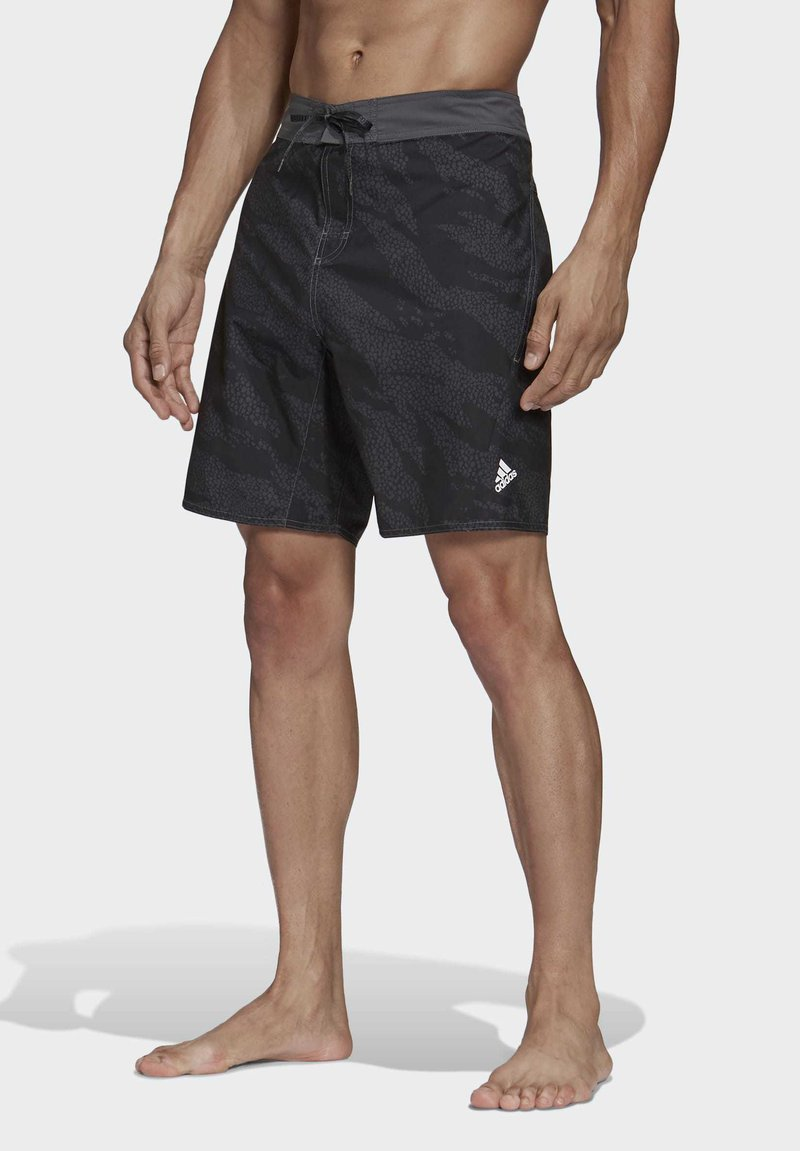 adidas Performance - PRIMEBLUE CLX SHORTS - Swimming trunks - black
