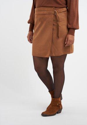 Wrap skirt - midden bruin