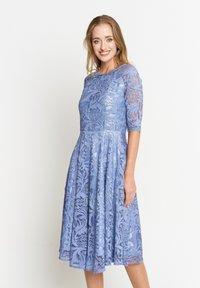 Madam-T - GLORIA - Day dress - indigo - 0