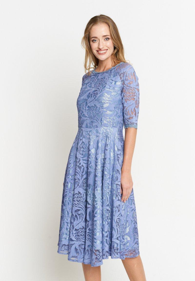 Madam-T - GLORIA - Day dress - indigo