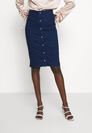 BERTHA SKIRT - Pencil skirt - indigo blue