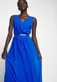 Lauren Ralph Lauren - GRACEFUL LONG GOWN - Vestido de fiesta - portuguese blue - 4