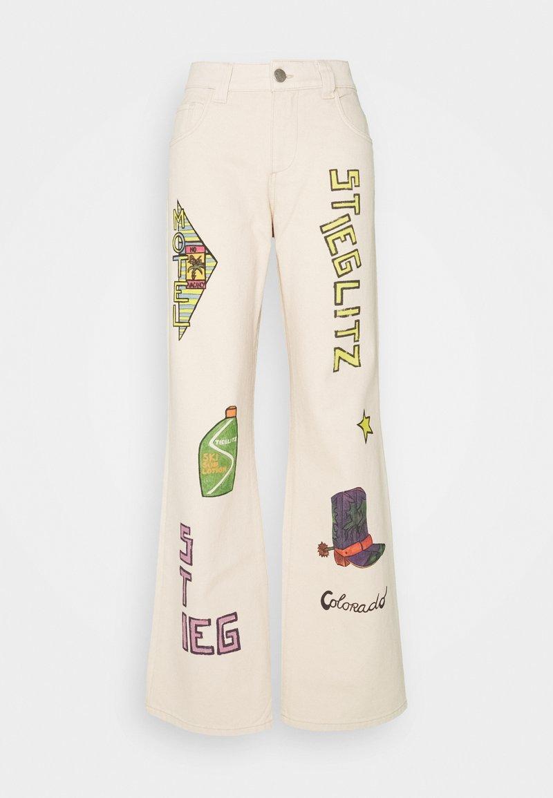 Stieglitz - OTIS PANTS - Kalhoty - brown