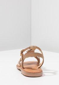 Les Tropéziennes par M Belarbi - BADAMI - Sandals - beige/or - 4
