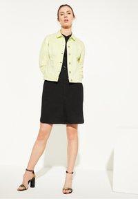 comma casual identity - Denim jacket - lemon - 1
