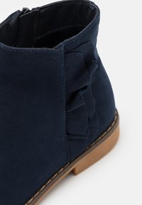 Cotton On - RUFFLE ANKLE BOOT - Classic ankle boots - navy - 5