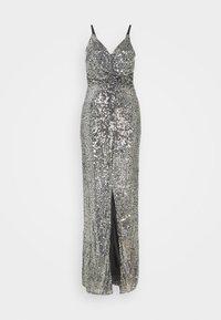 TFNC Tall - FAE MAXI - Společenské šaty - black silver - 0
