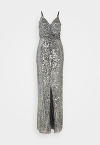 FAE MAXI - Společenské šaty - black silver