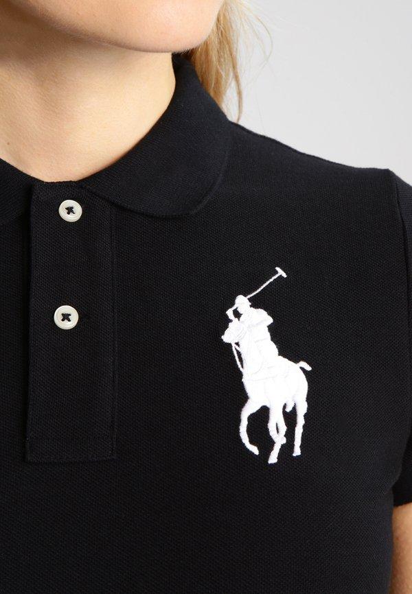 Polo Ralph Lauren Koszulka polo - black Odzież Damska YVPK MQ 8
