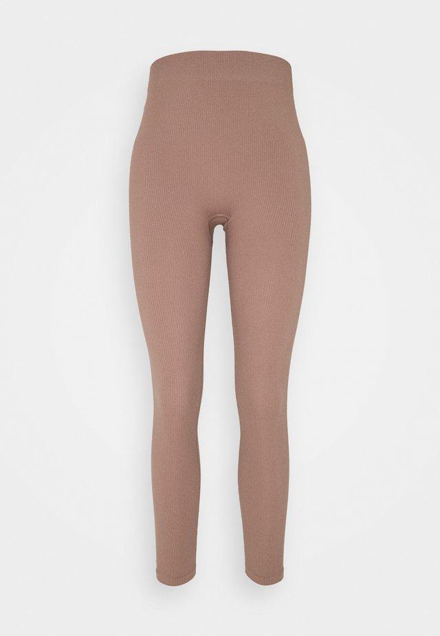 VMEVE - Leggings - brownie