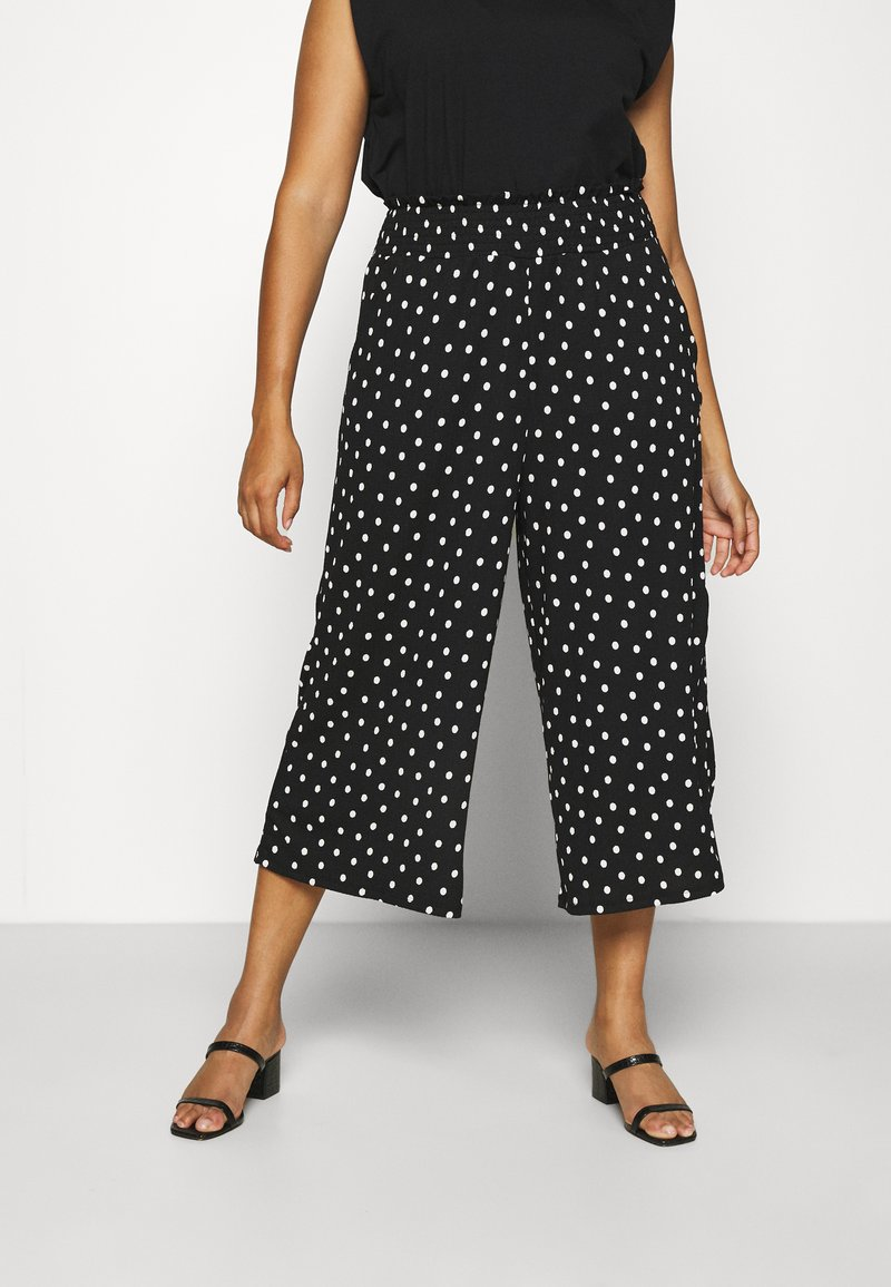 Simply Be - WAFFLE SPOT - Trousers - spot