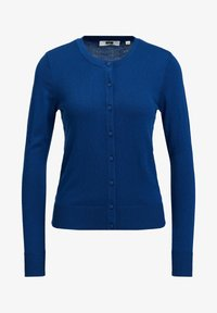 WE Fashion - Chaqueta de punto - navy blue - 5