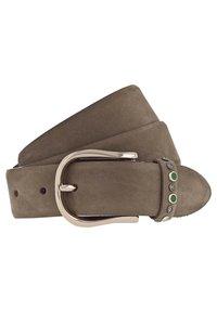 b.belt - ANNE GÜRTEL LEDER - Belt - brown - 0