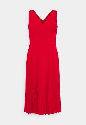 MID WEIGHT DRESS COMBO - Denní šaty - orient red