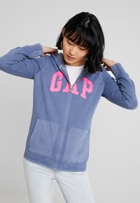 GAP - Mikina na zip - bainbridge blue - 2