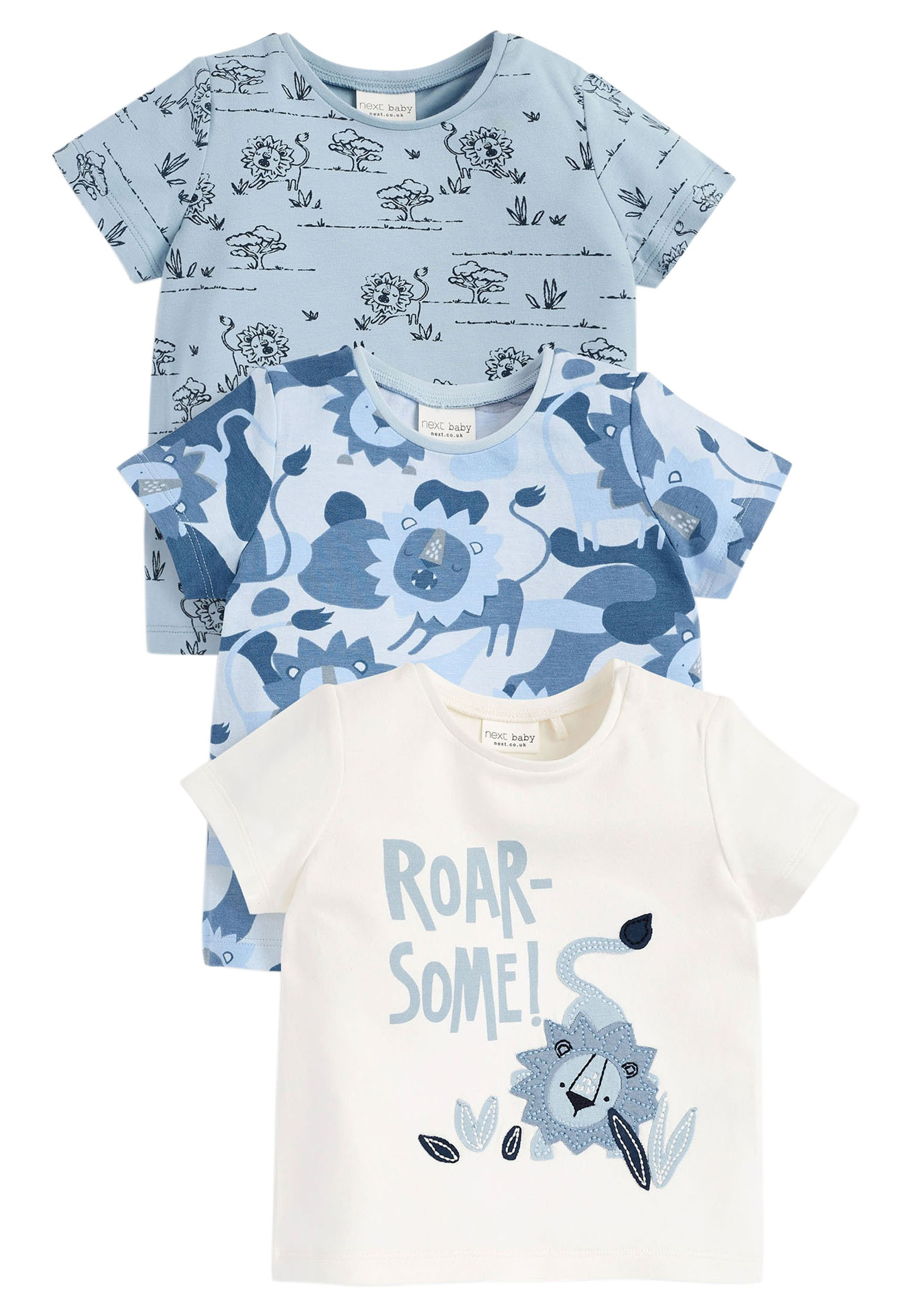 Bambini 3 PACK - T-shirt con stampa