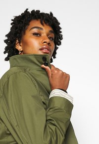 G-Star - FIELD OVERSHIRT WMN - Summer jacket - sage - 3