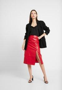 Glamorous - SKIRT - Pencil skirt - red - 1