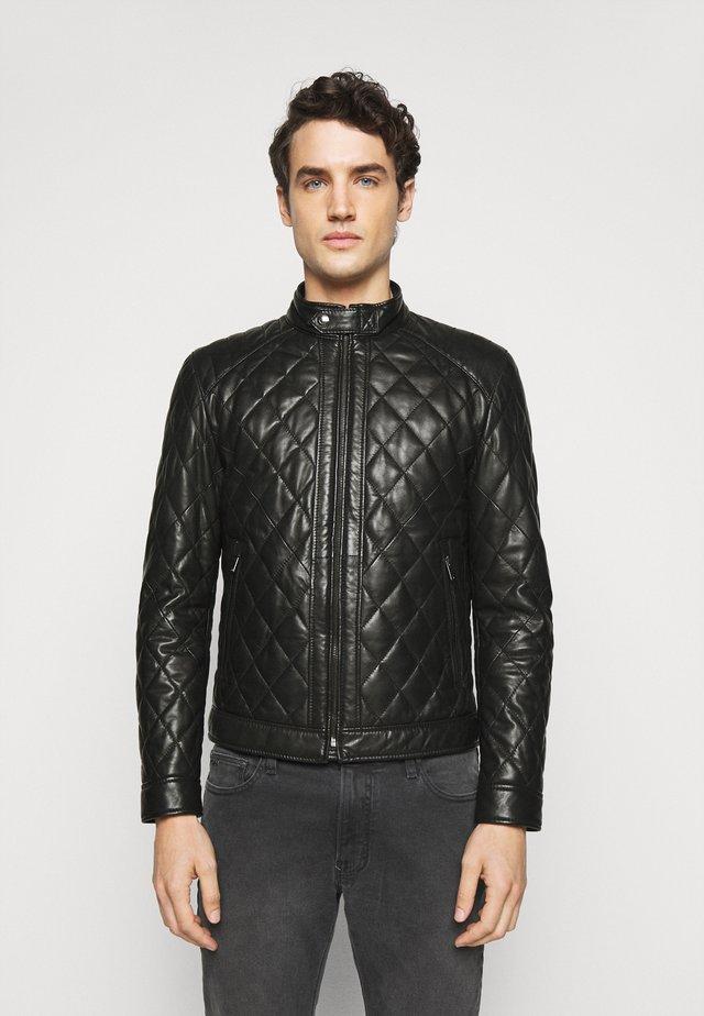 MARTY  - Leren jas - black