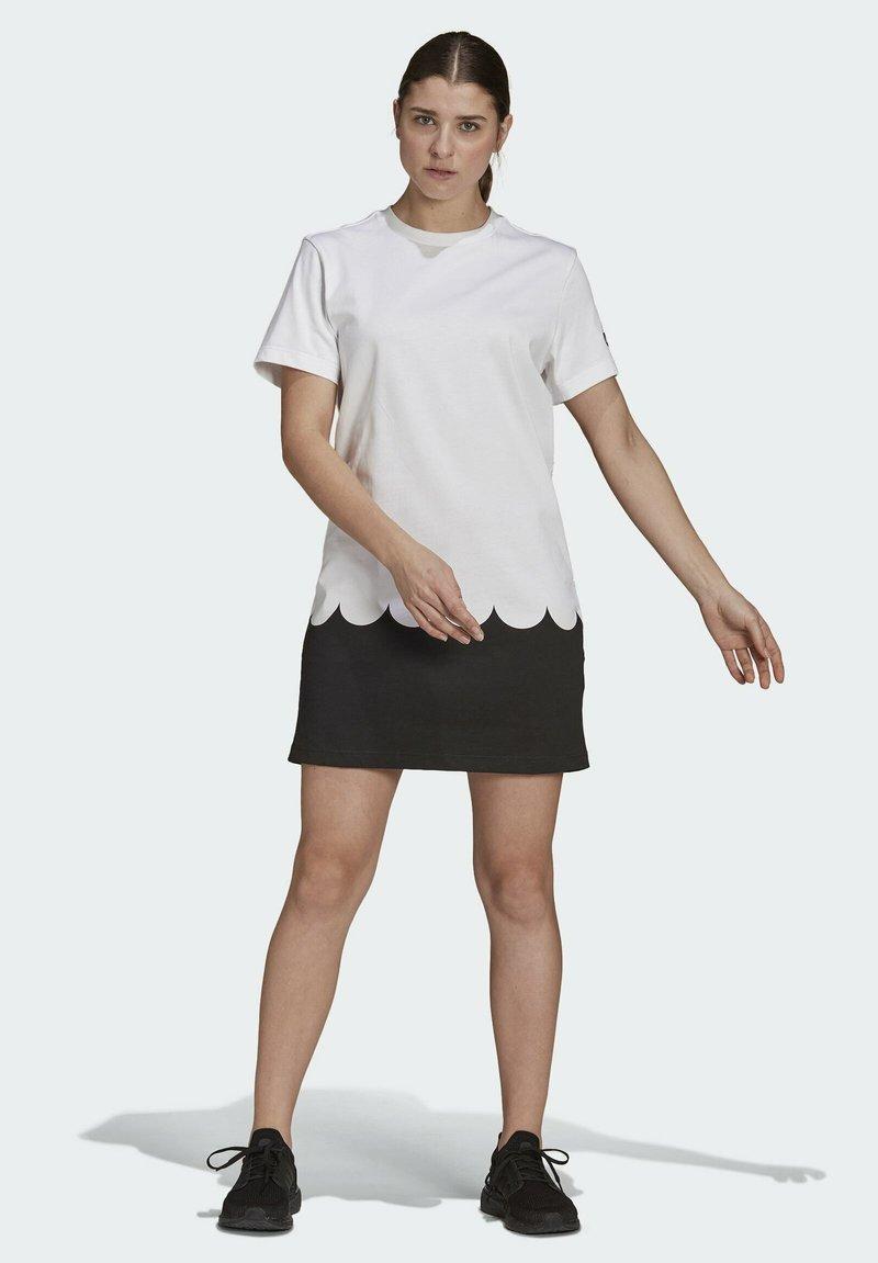 adidas Performance - MARIMEKKO - Sports dress - white